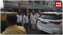 सीएम सिटी गोरखपुर में निषाद समाज का प्रदर्शन, सांसद ने की आरक्षण की मांग