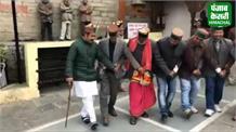 देखें रिश्ता तय होने के बाद कुलदेवी BHIMAKALI के दरबार में कैसे नाचे Vikramaditya Singh