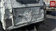 बारामुला-श्रीनगर हाईवे पर दिखा तेज रफ्तार का कहर, कार अनियंत्रित होकर पलटी