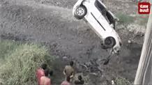 काली नदी में गिरी तेज रफ्तार कार, शादी से वापस आ रहे तीन दोस्तों की दर्दनाक मौत