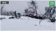 रोहतांग के साथ सोलंग और गुलाबा में बिछी सफेद चादर, बर्फ का आनंद ले रहे पर्यटक