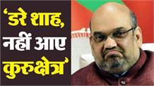 चुनावों के बाद डरी भाजपा, घबराकर कुरुक्षेत्र नहीं आए अमित शाहः तंवर