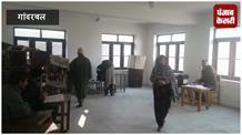 पंचायत चुनाव का आखिरी चरण: गांदरबल में सुबह से वोट डालने आ रहे लोग