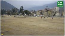 पंजाब केसरी की खबर का हुआ असर, खस्ताहाल ढालपुर मैदान के रखरखाव का काम शुरू