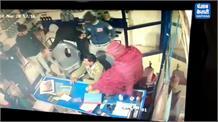 कार सवार बेखौफ बदमाश ने पेट्रोल पंप पर की लूट, देखिए CCTV तस्वीरें