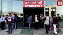 जिंदगी और मौत से जूझ रही छात्रा से मिलने पहुंचे CM, बेहतर इलाज का दिया आश्वासन