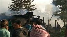 सुपौल में लगी भीषण आग, लाखों का सामान जलकर खाक