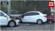 Honda Car शोरूम में लगी भीषण आग, 13 गाड़ियां जलकर खाक