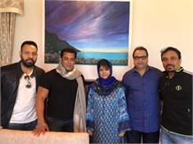 Salman Khan meets CM of Kashmir