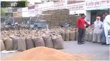 इंद्री अनाज मंडी में गेहूं का उठान न होने से किसान व आढ़तियों में भारी रोष