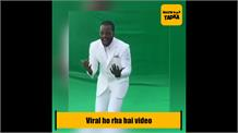 Chris Gayle Dance On Sapna Chaudhary Song