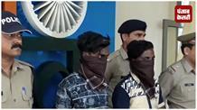 पुलिस ने दो शातिर चोरों को किया गिरफ्तार