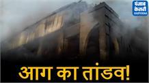 कुंडली इंडस्ट्रियल एरिया में लगी भयंकर आग, धू-धू कर जली फैक्ट्री