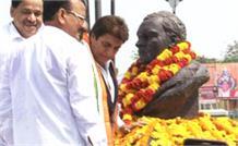 राजीव गांधी की पुण्यतिथि, कांग्रेस नेताओं ने दी श्रद्धांजलि