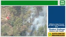 शिमला के जंगलों में भीषण आग का तांडव, फायर ब्रिगेड के छूट रहे पसीने