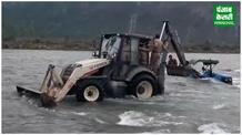बुरे काम का बुरा नतीजा, अवैध खनन करने गए दो युवक नदी के बहाव में फंसे
