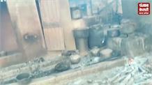 आग की चपेट में आए 13 घर, लाखों का हुआ नुकसान