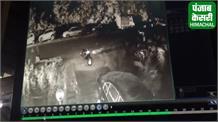 ढली सुरंग के पास आगजनी से पहले दिखा संदिग्ध, CCTV में कैद हुई हरकतें