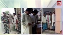 जोकीहाट उपचुनाव: कड़ी सुरक्षा के बीच मतदान जारी, मुर्शिद आलम ने डाला वोट