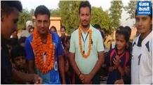 मनाना गांव के रविंद्र ने खो-खो में दिलवाया भारत को गोल्ड