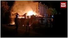 गाज़ियाबाद में आग ने मचाया तांडव, दो गाय और एक बछड़े की मौत