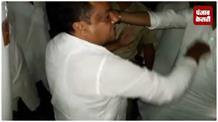 अवैध खनन को लेकर बीजेपी नेताओं और पुलिस के बीच नोकझोंक, थानाध्यक्ष को दी सस्पेंड कराने की धमकी