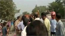 हरदोई में दर्दनाक सड़क हादसा, तीन लोगों की हुई मौत