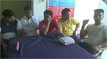 नेपाल सीमा के पास 20 लाख रुपए के साथ 5 लोग गिरफ्तार