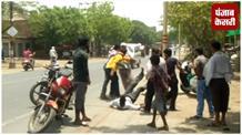 बाइक टकराने को लेकर दो पक्षों में जमकर हुई मारपीट, एक पक्ष ने फावड़े से किया हमला