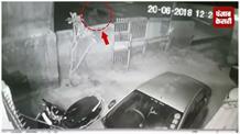बिजली विभाग के मुख्य अभियंता के घर दबंग ने की फायरिंग, CCTV में कैद हुई वारदात