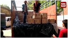डिटर्जेंट पाउडर में छुपाकर लाई जा रही 865 पेटी शराब बरामद