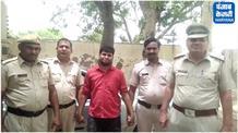 शराब की 112 पेटियां के साथ तस्कर को किया गिरफ्तार