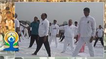 प्रदेश में मनाया गया चौथा अंतरराष्ट्रीय योग दिवस, लाखों लोगों ने किया योग
