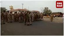 शिवसेना के सदस्यों को पुलिस ने रावी नदी के पुल पर रोका, नारेबाजी के साथ हुआ हंगामा