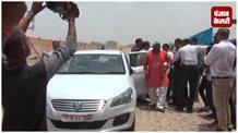 उपमुख्यमंत्री दिनेश शर्मा पहुंचे इलाहाबाद, मुख्य एकेडमिक भवन का किया भूमि पूजन