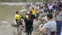 पावर नदी से बरामद हुए तीन युवकों के शव, त्यूणी बॉर्डर से हुए थे लापता
