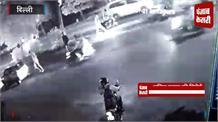 Live Accident : तेज रफ्तार बाइक ने बुजुर्ग को मारी जबरदस्त टक्कर