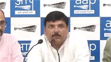 केंद्र सरकार द्वारा RTI बिल में संशोधन पर 'आप' की प्रेस कॉन्फ्रेंस