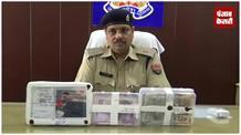 बैंक से चेक चोरी करने वाले मास्टमाइंड गिरोह के दो नटवरलाल गिरफ्तार