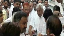 संतकबीरनगर में ट्रिपल मर्डर, सपा नेताओं ने की CBI जांच की मांग
