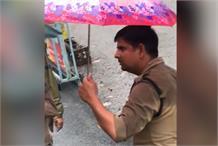 पुलिसकर्मी ने बस ड्राइवर को दी गालियां, वीडियो सोशल मीडिया पर वायरल