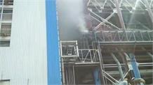 रायबरेली के NTPC में लगी भीषण आग, दमकल ने पाया आग पर काबू