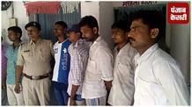 बंगाल ले जाया जा रहे 12 गोवंश को किया गया जब्त, हिरासत में 7 तस्कर