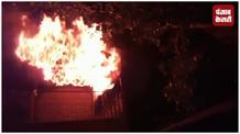 शॉर्ट सर्किट से बाजार में लगी आग, कई दुकानें जलकर खाक