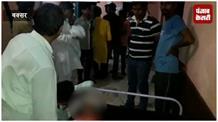 तजिया जुलूस के दौरान ट्यूबलाइट का शीशा गले में धंसने से युवक की मौत