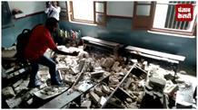 मिशनरी स्कूल की सीलिंग गिरने से एक बच्चे की मौत,कई बच्चे बुरी तरह से जख्मी