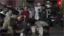 Nahan में पुलिस और हिन्दू जागरण मंच के बीच झड़प