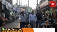 जब ई-रिक्शा में बैठकर आईजी मुरादाबाद ने लिया रामपुर का जायज़ा