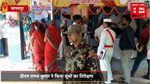 नाथनगर विधानसभा में मतदान केंद्रों पर सुरक्षा के पुख्ता इंतजाम, लगातार पेट्रोलिंग कर रहे हैं पुलिस जवान
