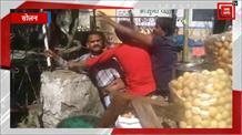 अब सोलन में गोलगप्पे वाले लड़े